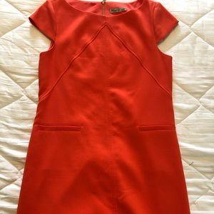 Eliza J EUC orange dress size 10